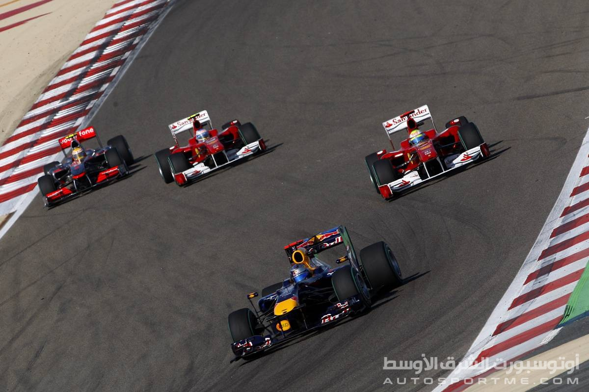 14.03.2010 Sakhir, Bahrain, Sebastian Vettel (GER), Red Bull Racing, RB6 - Formula 1 World Championship, Rd 1, Bahrain Grand Prix, Sunday Race - www.xpb.cc, EMail: info@xpb.cc - copy of publication required for printed pictures. Every used picture is fee-liable. © Copyright: Batchelor / xpb.cc